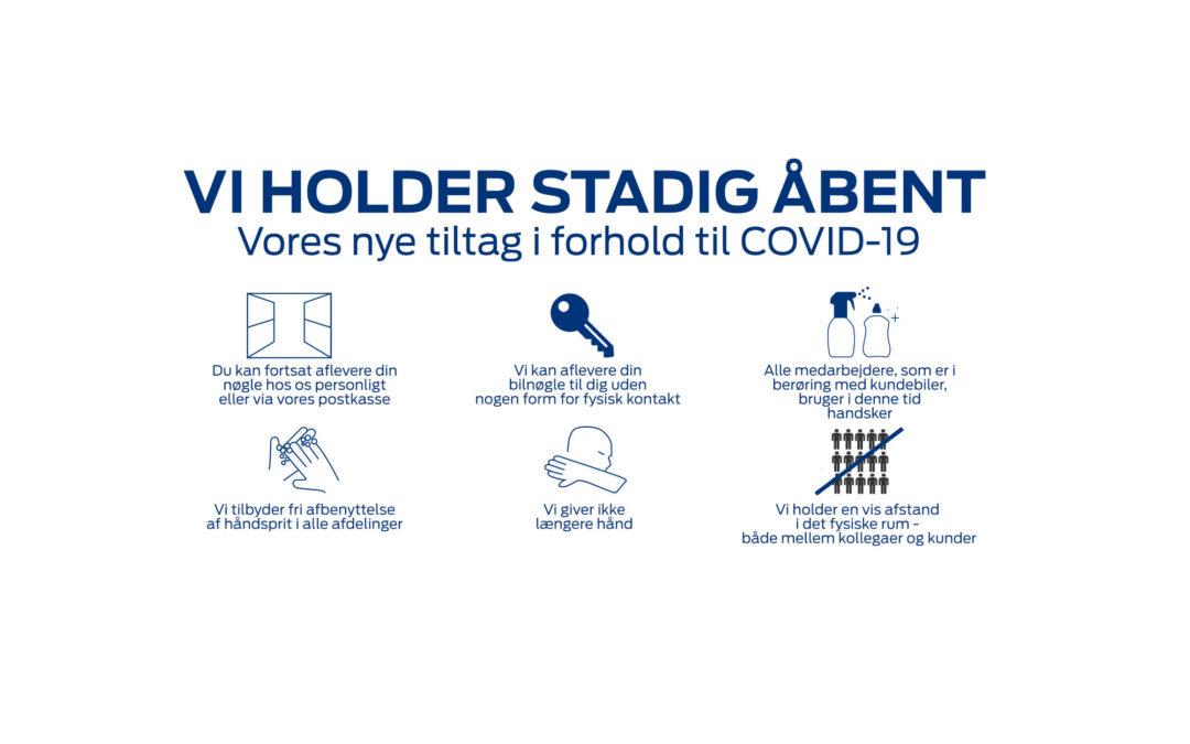 Information vedrørende COVID-19